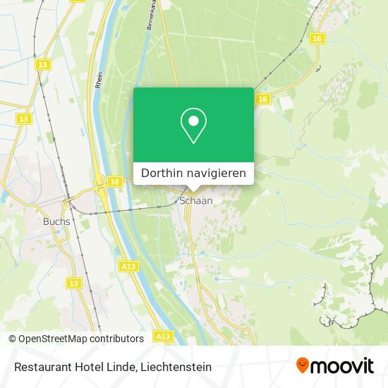 Restaurant Hotel Linde Karte