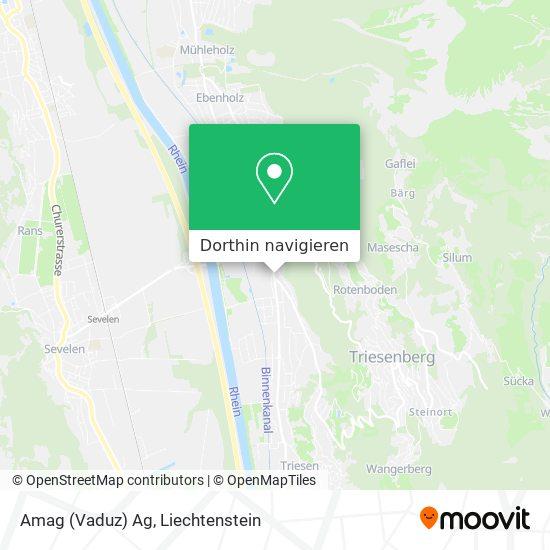 Amag (Vaduz) Ag Karte