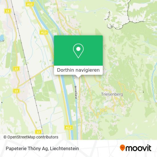 Papeterie Thöny Ag Karte