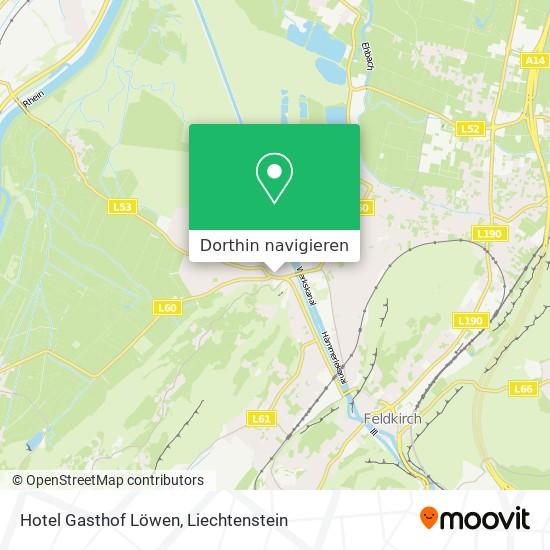 Hotel Gasthof Löwen Karte