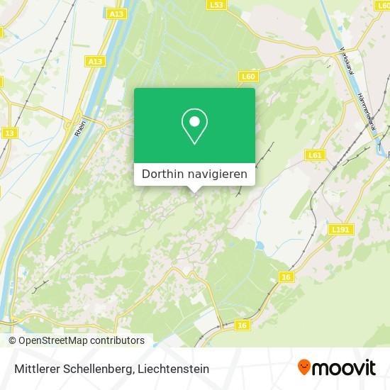 Mittlerer Schellenberg Karte