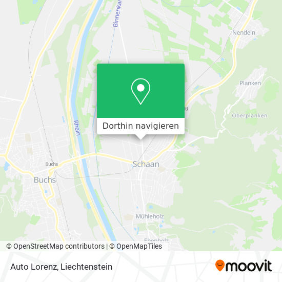 Auto Lorenz Karte
