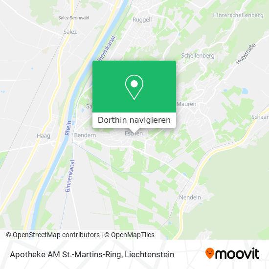 Apotheke AM St.-Martins-Ring Karte