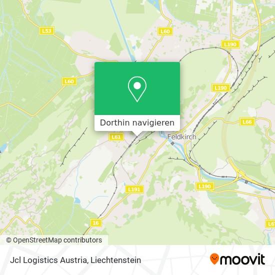 Jcl Logistics Austria Karte