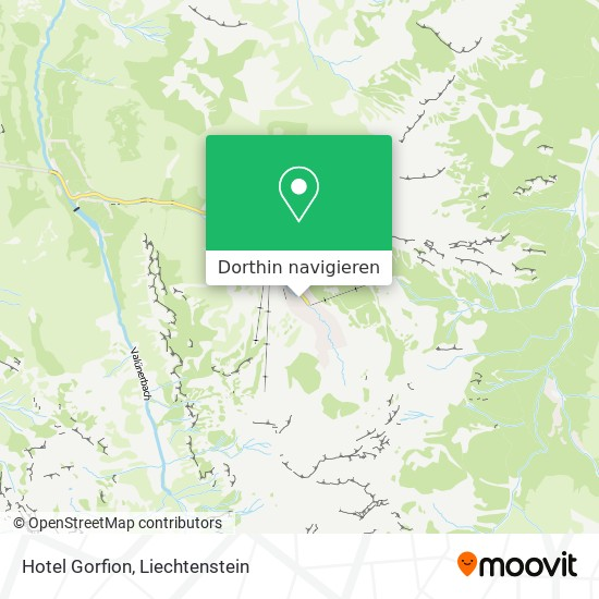 Hotel Gorfion Karte