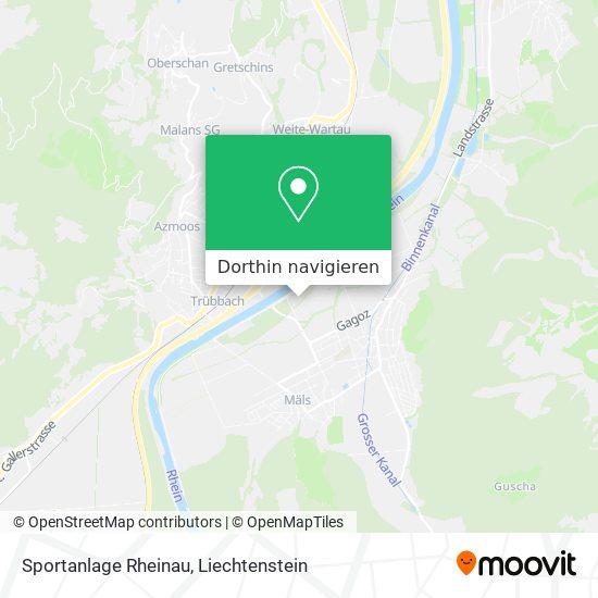 Sportanlage Rheinau Karte