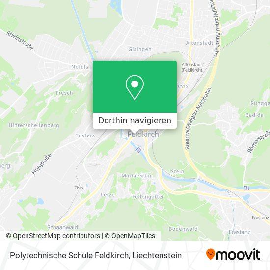 Polytechnische Schule Feldkirch Karte