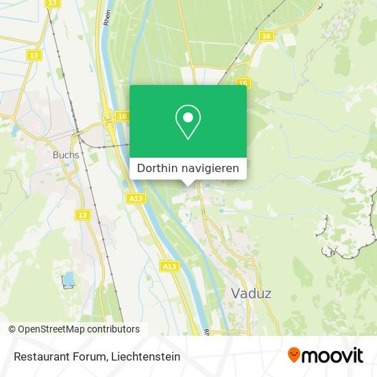 Restaurant Forum Karte