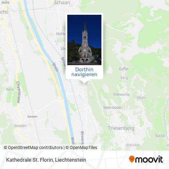 Kathedrale St. Florin Karte