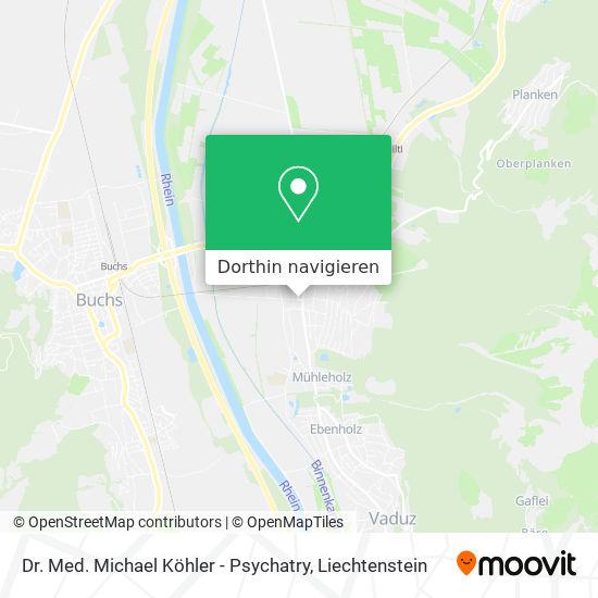 Dr. Med. Michael Köhler - Psychatry Karte