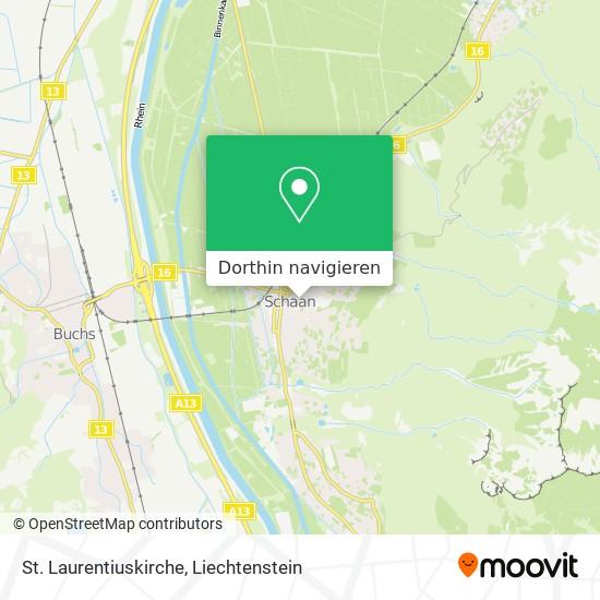 St. Laurentiuskirche Karte