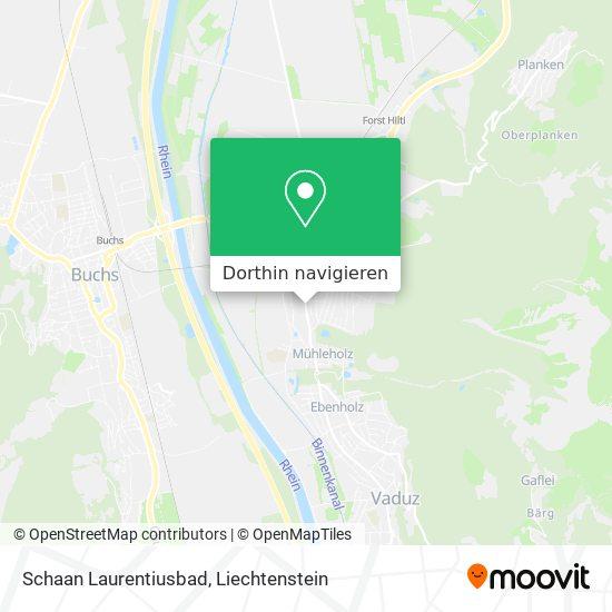 Laurentiusbad Karte