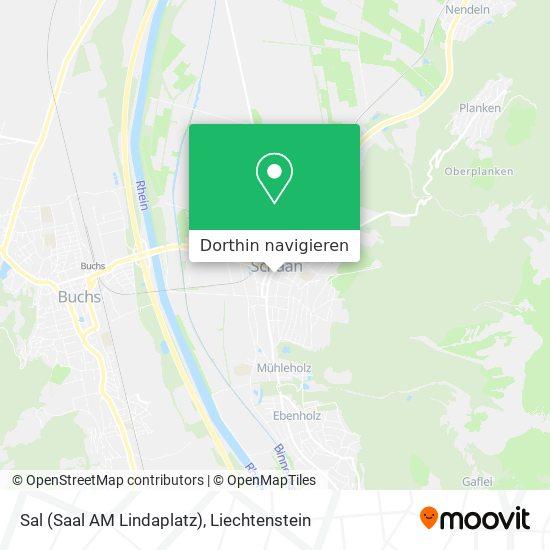 Sal (Saal AM Lindaplatz) Karte