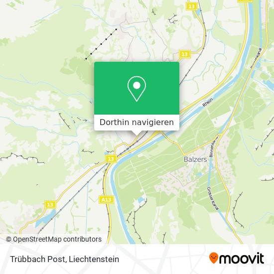 Trübbach Post Karte