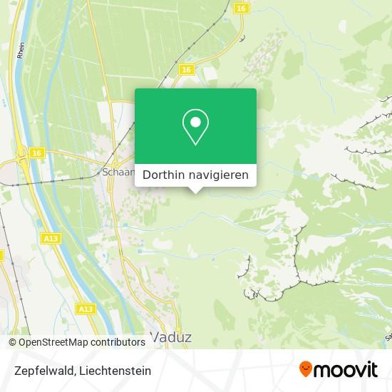 Zepfelwald Karte