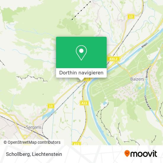 Schollberg Karte
