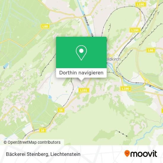 Bäckerei Steinberg Karte