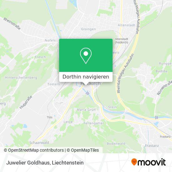 Juwelier Goldhaus Karte