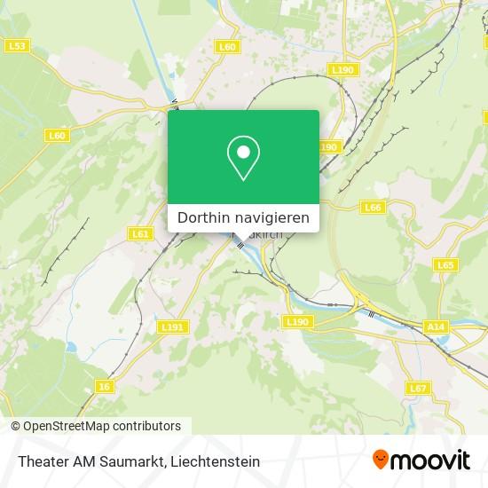 Theater AM Saumarkt Karte