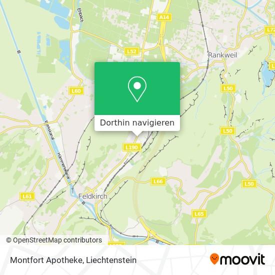 Montfort Apotheke Karte