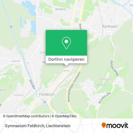 Gymnasium Feldkirch Karte