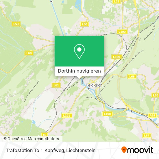 Trafostation To 1 Kapfweg Karte