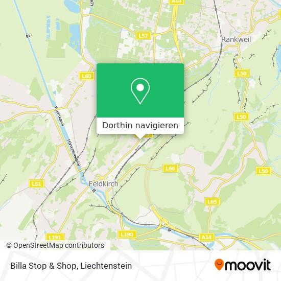 Billa Stop & Shop Karte