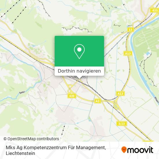 Mks Ag Kompetenzzentrum Für Management Karte