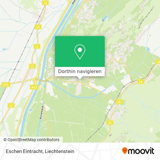 Eschen Eintracht Karte