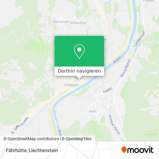 Trübbach Fährhütten Karte