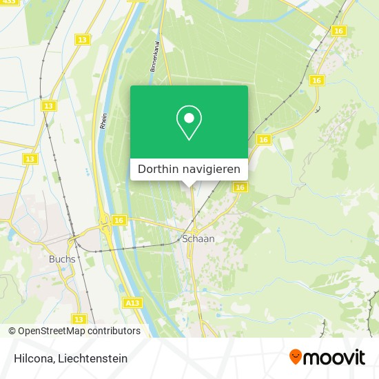 Hilcona Karte