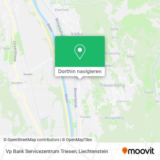 Vp Bank Servicezentrum Triesen Karte