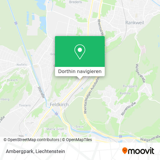 Ambergpark Karte