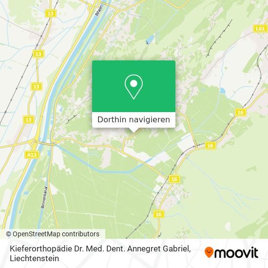 Kieferorthopädie Dr. Med. Dent. Annegret Gabriel Karte
