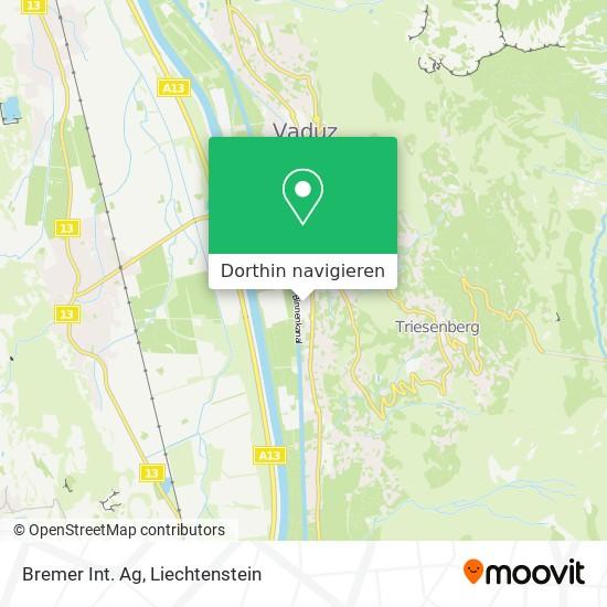 Bremer Int. Ag Karte