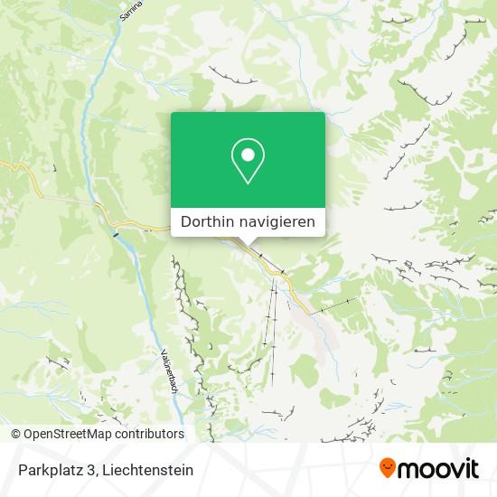 Parkplatz 3 Karte