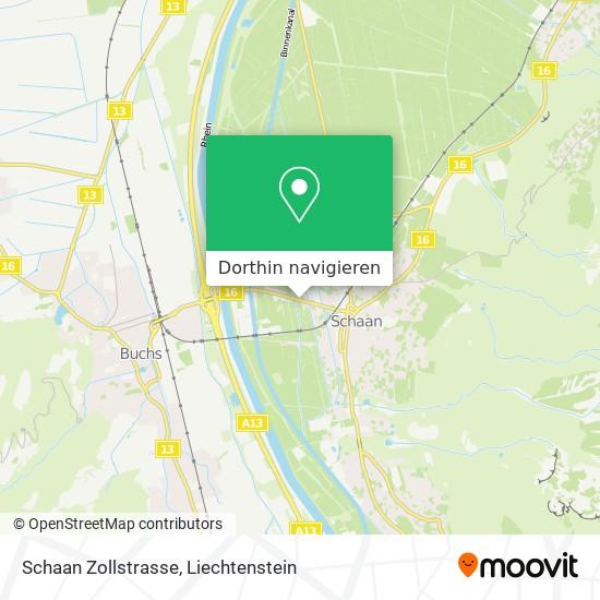 Zollstrasse Karte