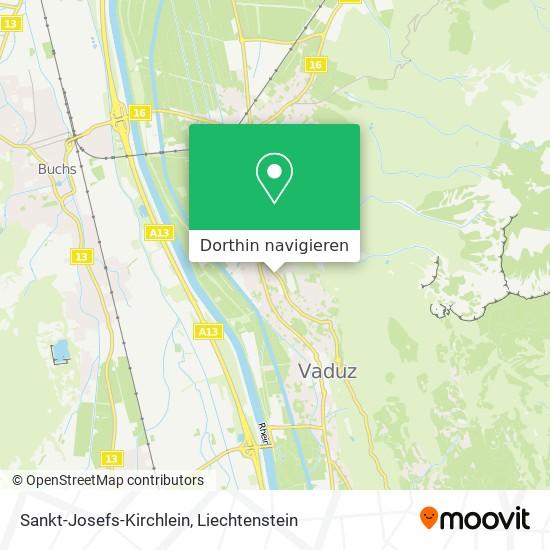 Sankt-Josefs-Kirchlein Karte