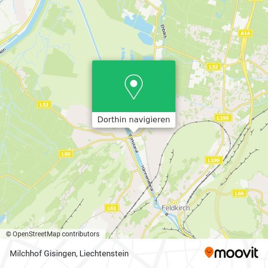 Milchhof Gisingen Karte