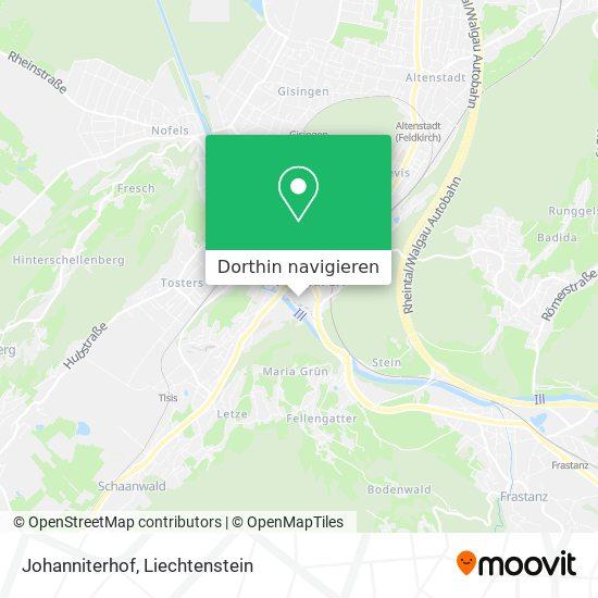 Johanniterhof Karte