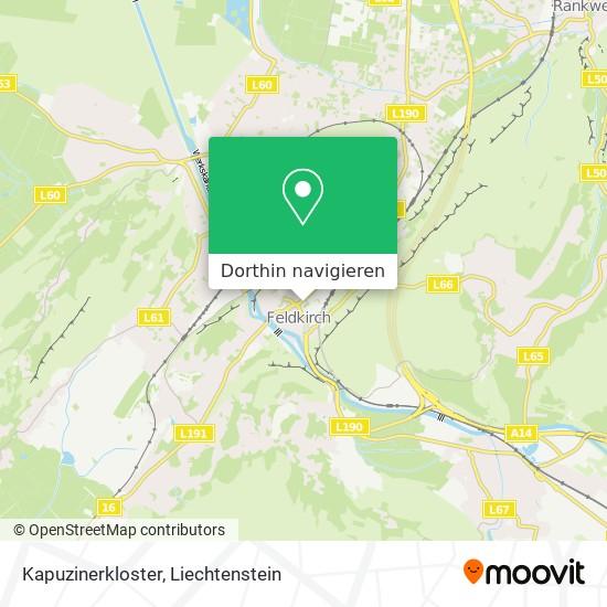 Kapuzinerkloster Karte