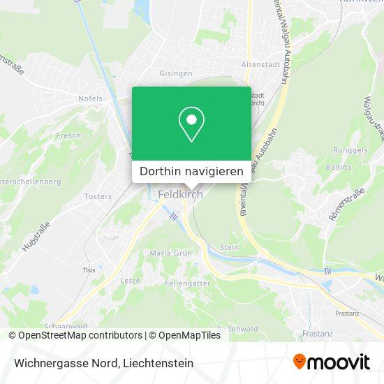 Ersatzparkplatz Wichnergasse Karte