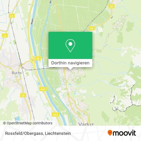 Rossfeld/Obergass Karte