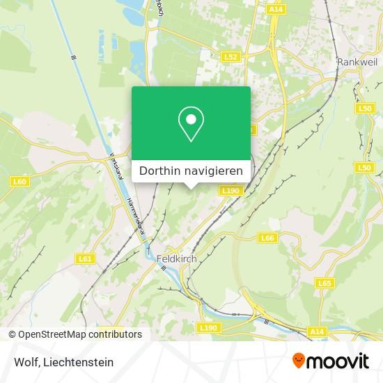 Wolf Karte