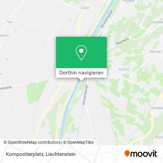 Kompostierplatz Karte