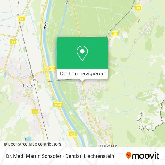 Dr. Med. Martin Schädler - Dentist Karte