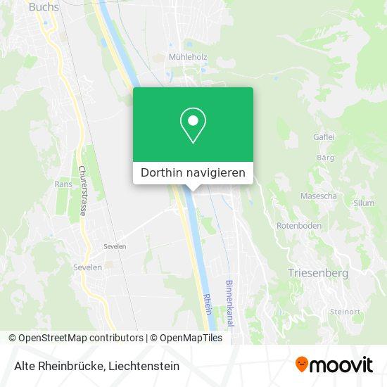 Alte Rheinbrücke Karte