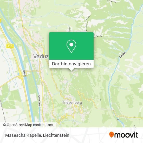 Masescha Kapelle Karte
