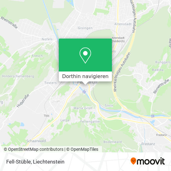 Fell-Stüble Karte