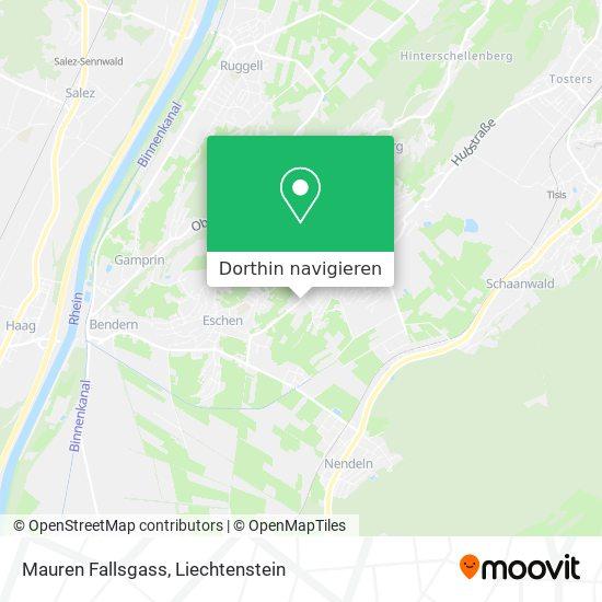Mauren Fallsgass Karte